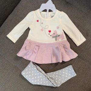 Baby Top & Bottom Set